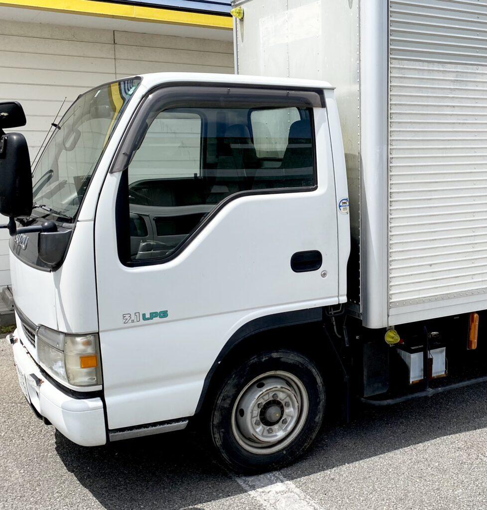 環境にやさしいLPGトラック導入