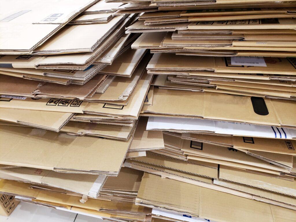 廃棄梱包資材をソリューション
